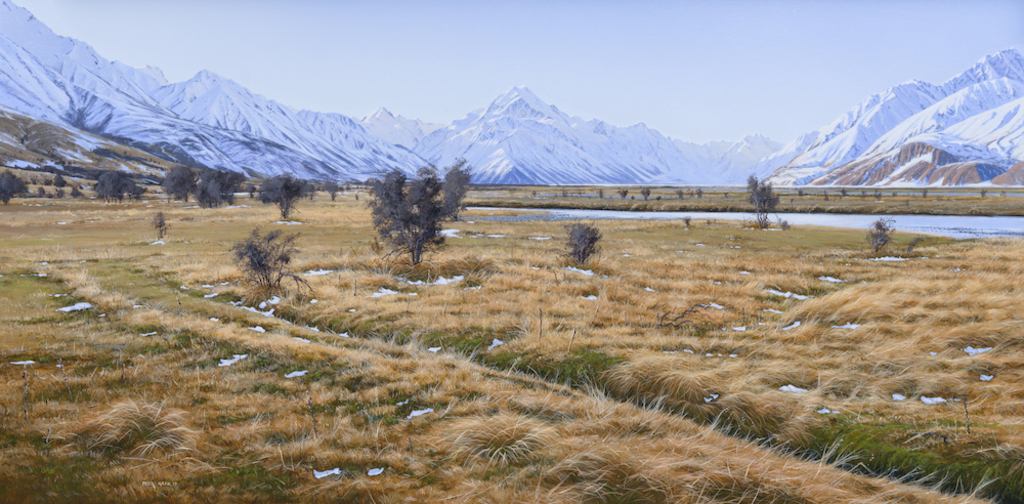 One Clear Winter Day - Mt Cook