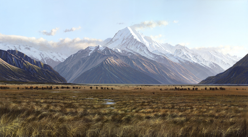 Mt Cook/Aoraki, the Cloud Piercer